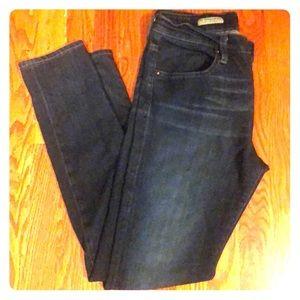 AG Farrah High Rose Skinny Jeans 29
